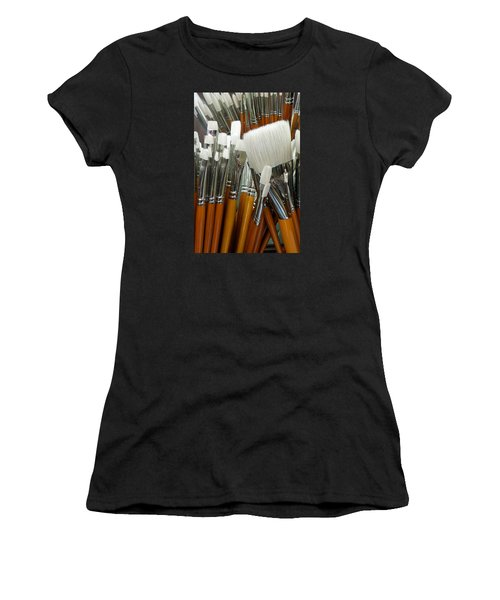 The Artist In The Brush 2 Women's T-Shirt (Athletic Fit)