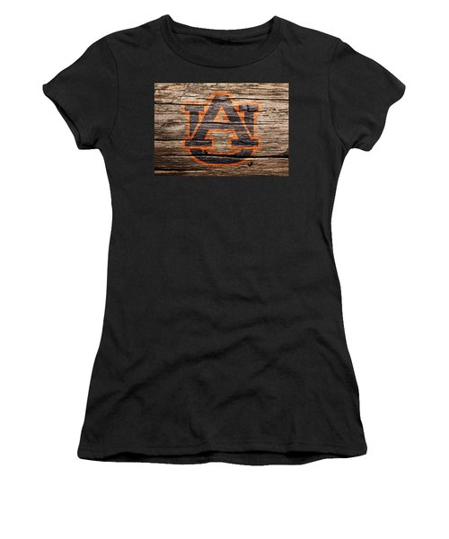 The Auburn Tigers 1a Women's T-Shirt (Athletic Fit)