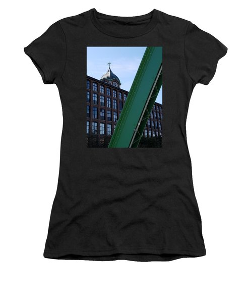 The Ayer Mill And Clock Tower Women's T-Shirt