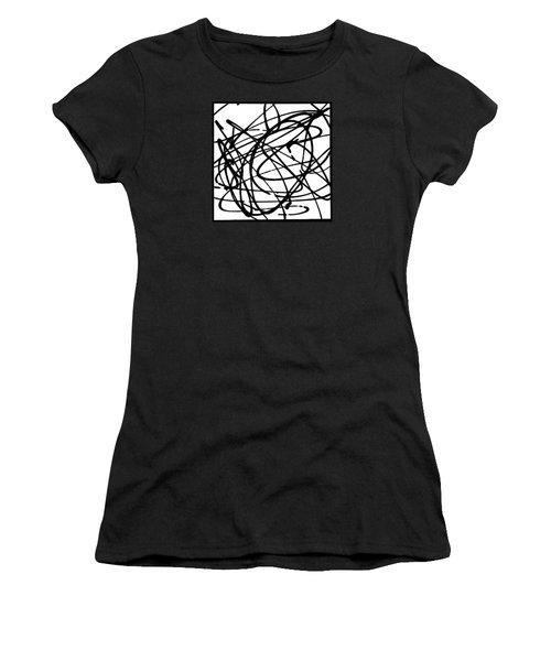 The B-boy As Women's T-Shirt (Junior Cut) by Ismael Cavazos