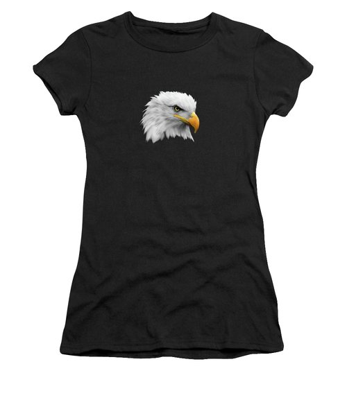 The Bald Eagle Women's T-Shirt (Athletic Fit)