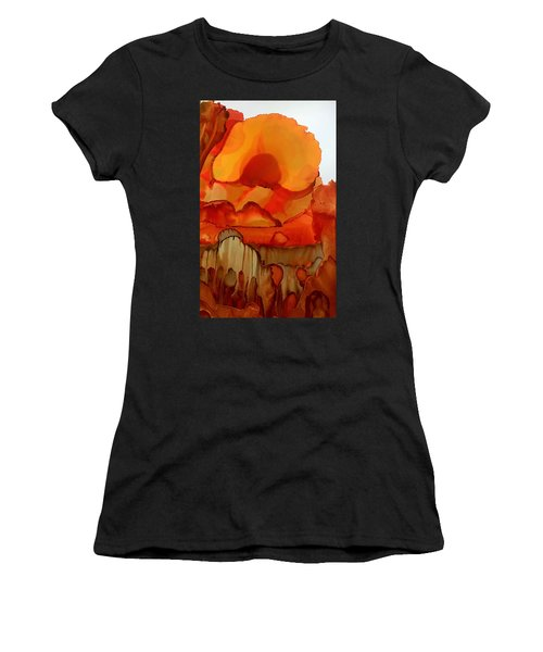 The Ball Of Fire Women's T-Shirt