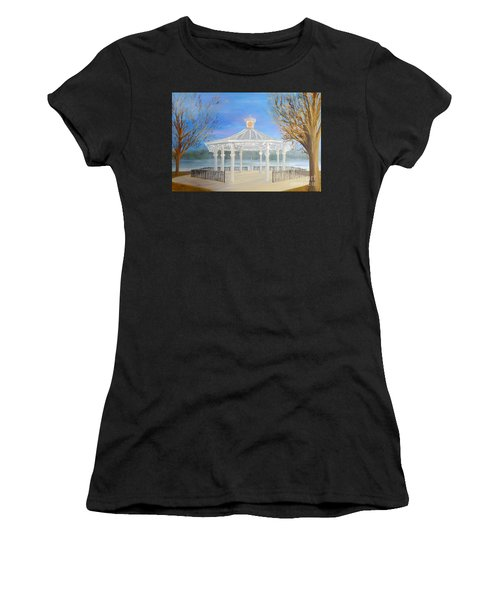 The Bandstand Basingstoke War Memorial Park Women's T-Shirt