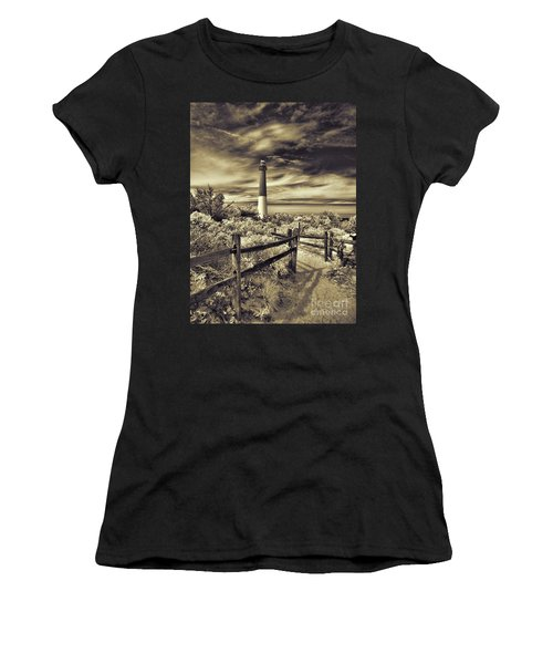 The Barnegat Lighthouse New Jersey Women's T-Shirt
