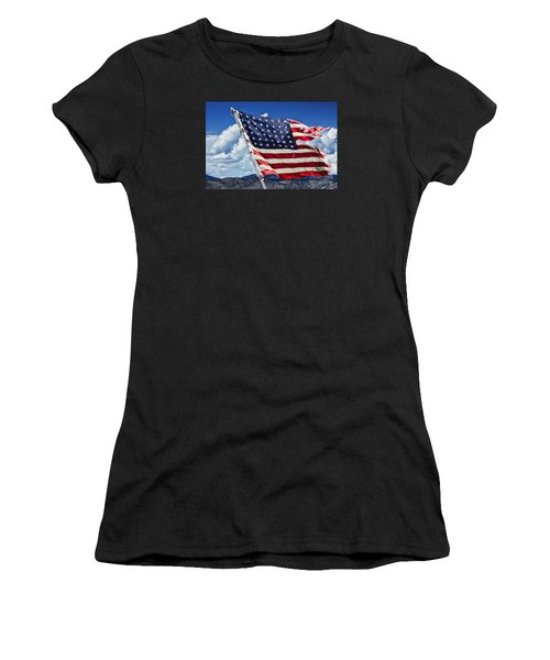 The Battles I Have Seen Women's T-Shirt (Athletic Fit)