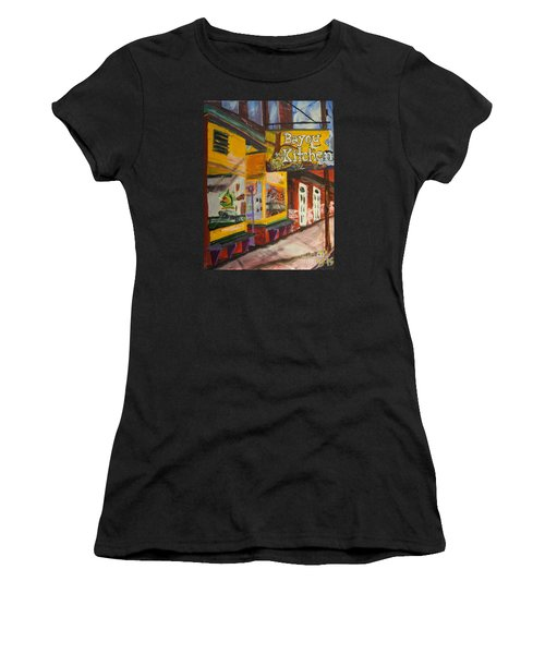 The Bayou Kitchen Women's T-Shirt (Athletic Fit)