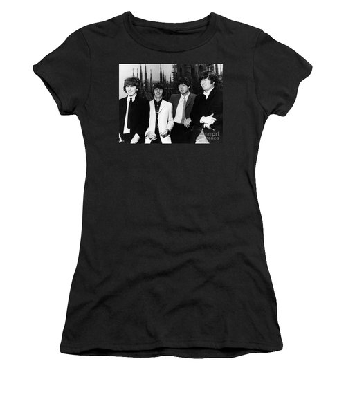 The Beatles, 1960s Women's T-Shirt (Junior Cut) by Granger