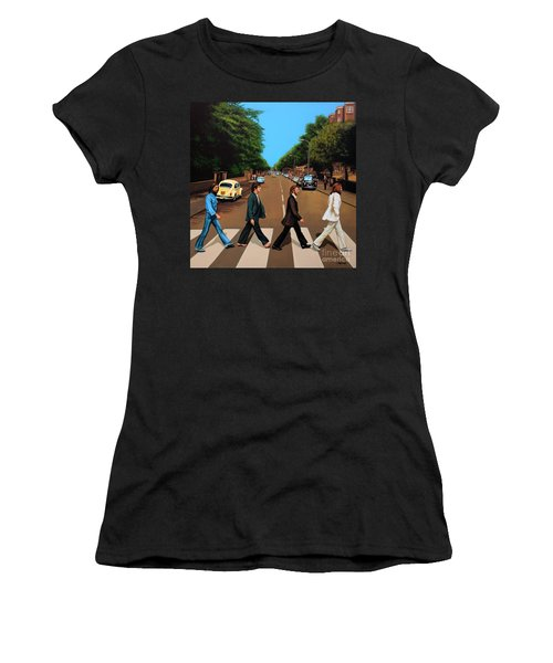 The Beatles Abbey Road Women's T-Shirt