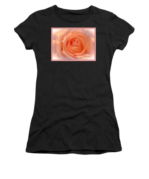 The  Beauty Of A Rose  Copyright Mary Lee Parker 17,  Women's T-Shirt (Athletic Fit)