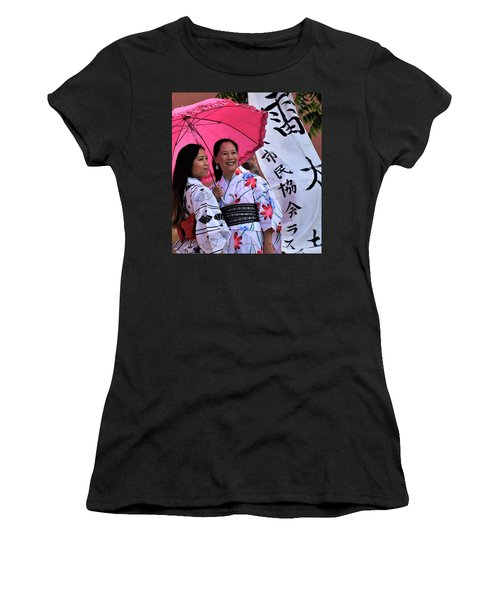 The Beauty Of Sharing Women's T-Shirt (Athletic Fit)