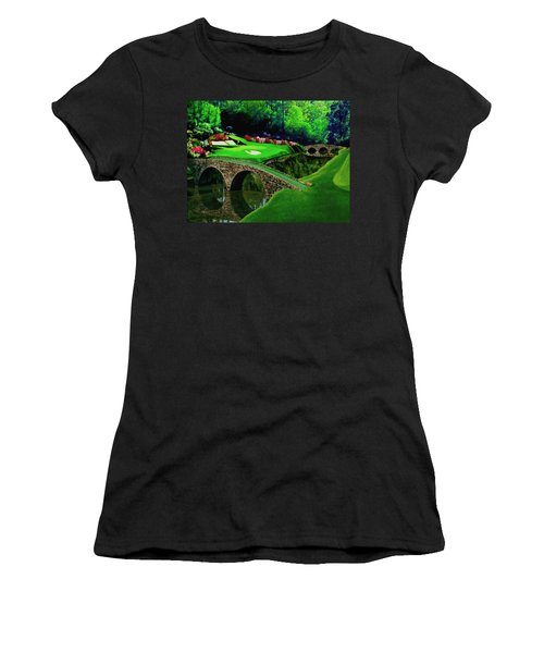 The Beauty Of The Masters Cropped Version Women's T-Shirt (Athletic Fit)