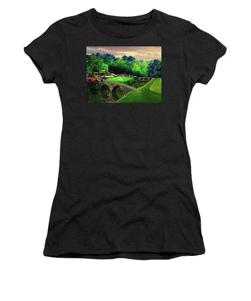 The Beauty Of The Masters Women's T-Shirt (Athletic Fit)