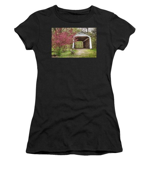 The Beeson Covered Bridge Women's T-Shirt