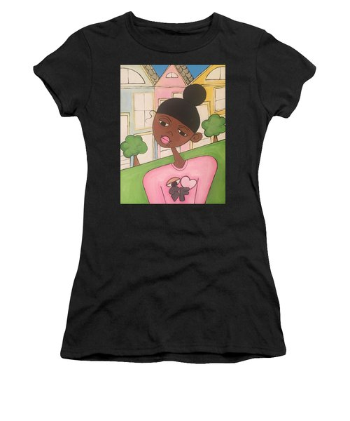 The Big City Women's T-Shirt (Athletic Fit)