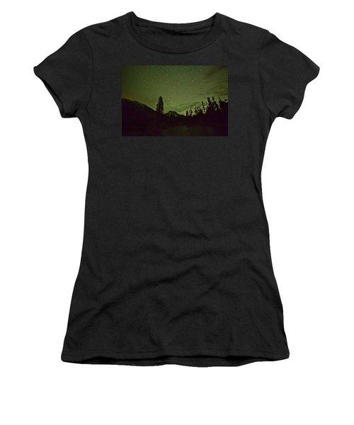 The Big Dipper Over Mount Moran Women's T-Shirt