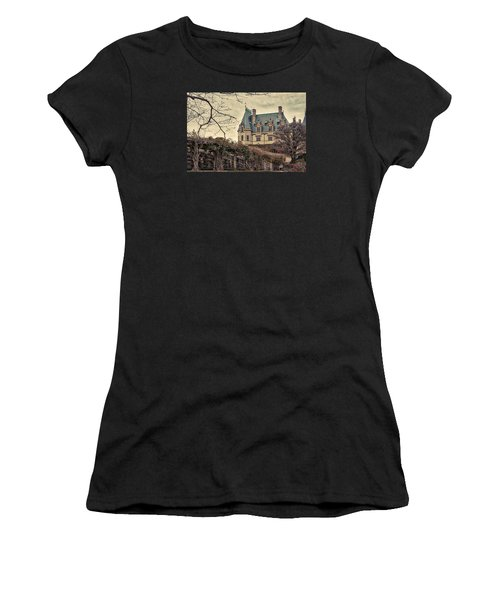 The Biltmore Mansion In The Fall Women's T-Shirt