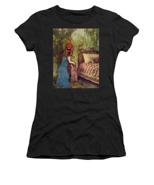 The Bird Catcher Women's T-Shirt (Athletic Fit)