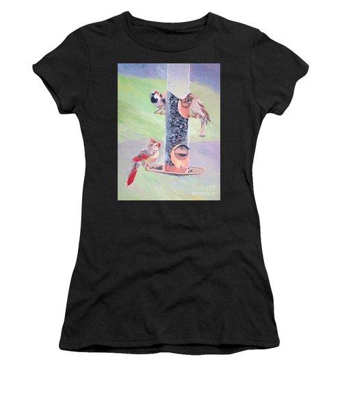 The Bird Feeder Women's T-Shirt