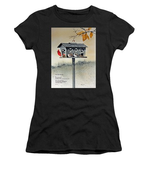 The Birdfeeder Women's T-Shirt (Athletic Fit)