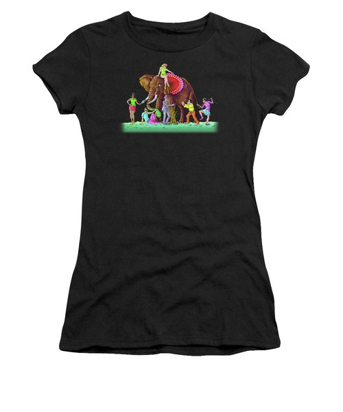 The Blind And The Elephant Women's T-Shirt