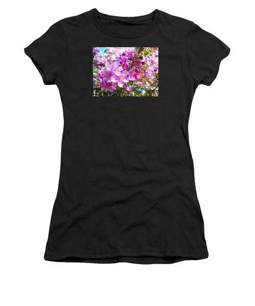 The Blossoms Of Spring Women's T-Shirt (Athletic Fit)