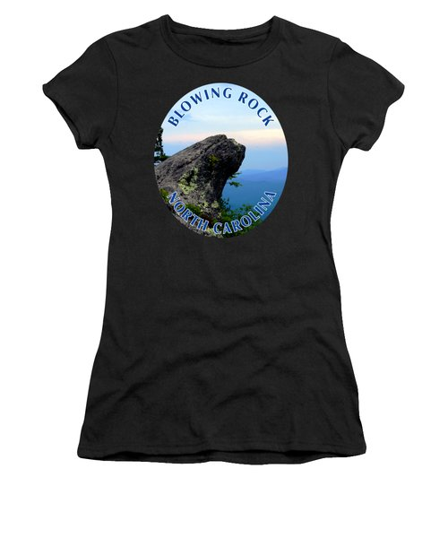 The Blowing Rock T-shirt Women's T-Shirt (Athletic Fit)