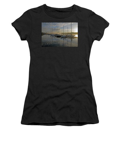 The Blue And Beyond Women's T-Shirt (Athletic Fit)