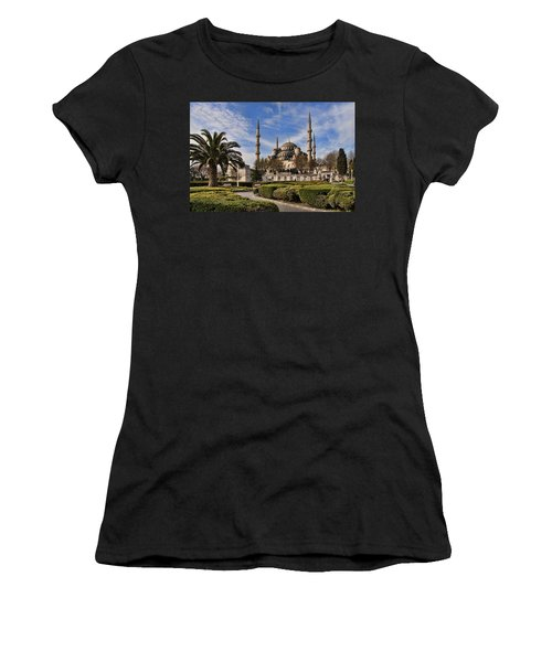 The Blue Mosque In Istanbul Turkey Women's T-Shirt (Athletic Fit)