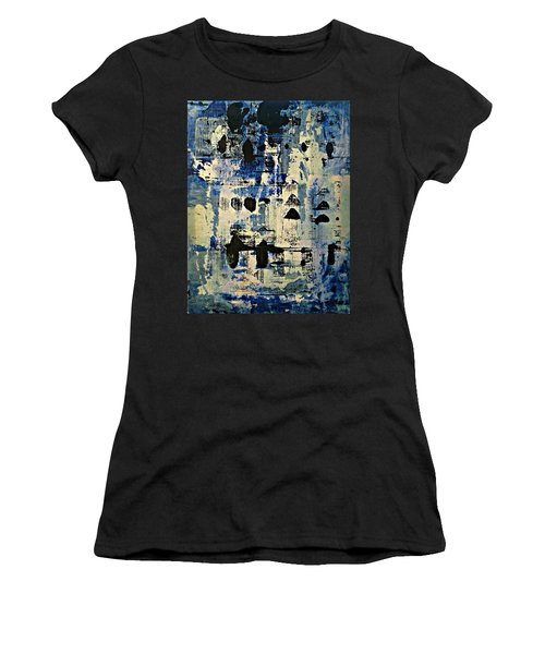 The Blues Abstract Women's T-Shirt