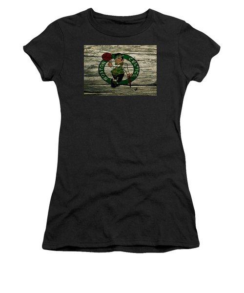 The Boston Celtics 2w Women's T-Shirt (Athletic Fit)