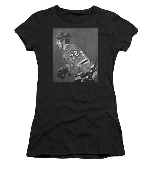 The Breadman Women's T-Shirt (Junior Cut) by Melissa Goodrich