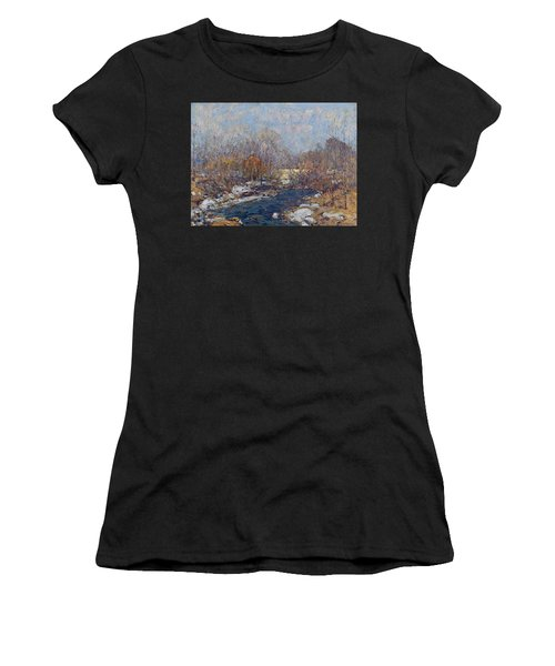 The Bridge  Garfield Park  By William J  Forsyth Women's T-Shirt