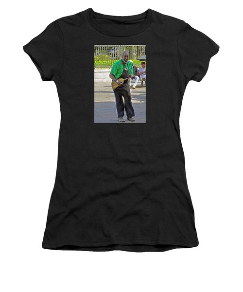 The Broom Musician Women's T-Shirt (Athletic Fit)