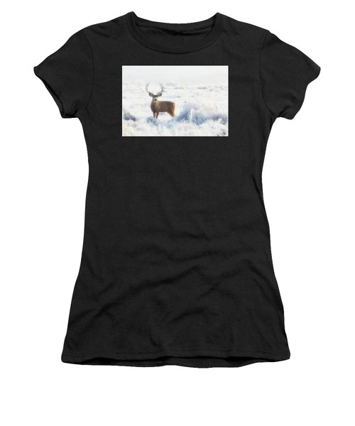 The Buck Stops Here Women's T-Shirt (Athletic Fit)
