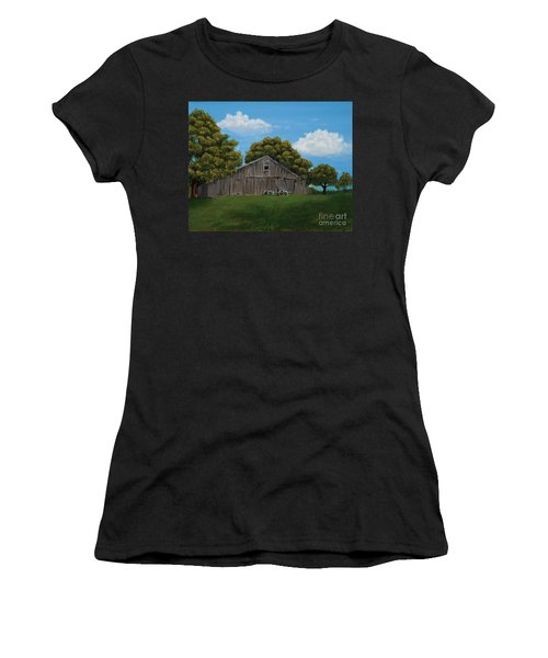 The Buggy Shed Women's T-Shirt (Athletic Fit)