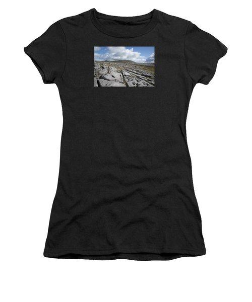 The Burren National Park Women's T-Shirt (Athletic Fit)