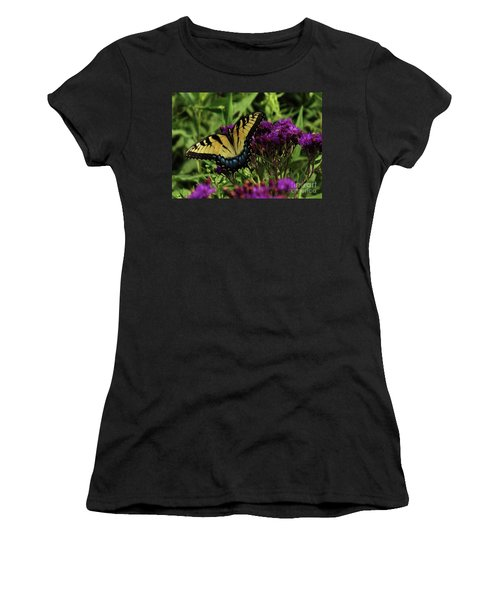 The Butterfly Buffet Women's T-Shirt (Athletic Fit)