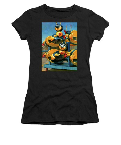 The Buzz Women's T-Shirt (Athletic Fit)