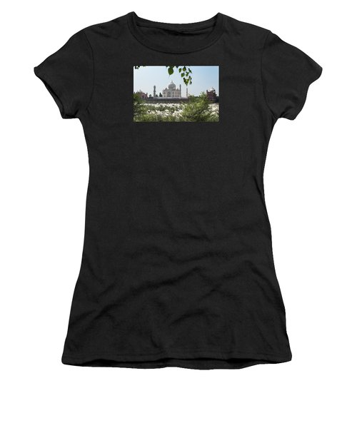 The Calm Behind The Taj Mahal Women's T-Shirt