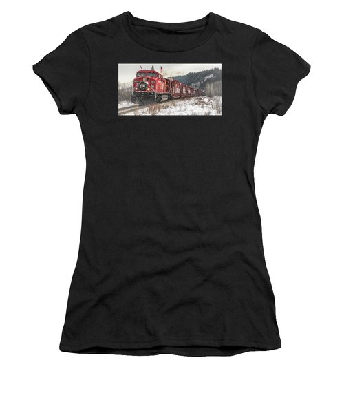 The Canadian Pacific Holiday Train Women's T-Shirt