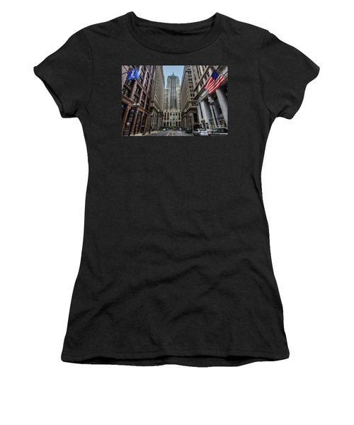 The Canyon In The Financial District Women's T-Shirt