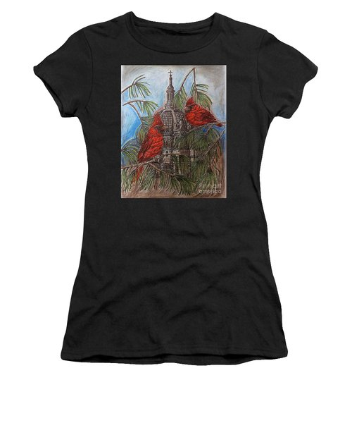 The Cardinals Visit St.pauls Cathedral Women's T-Shirt (Athletic Fit)