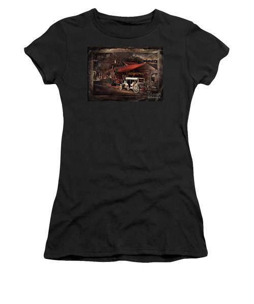 The Carriage Women's T-Shirt (Junior Cut) by Bob Pardue