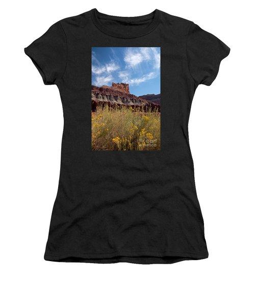 Rock Formation Capital Reef Women's T-Shirt