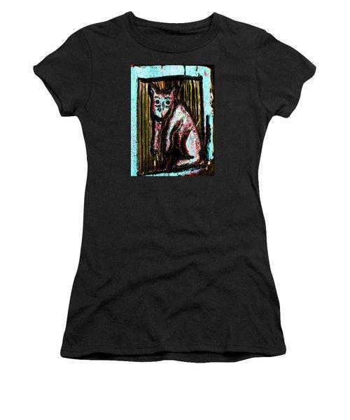 The Cat Women's T-Shirt (Athletic Fit)