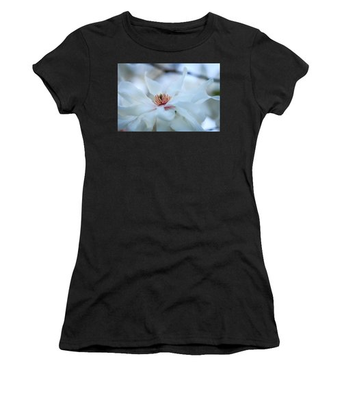 The Center Of Beauty Women's T-Shirt (Athletic Fit)