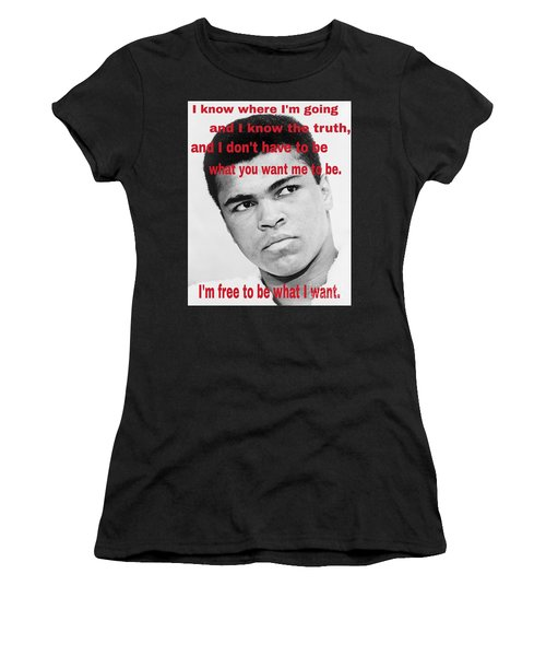 The Champ Muhammad Ali  Women's T-Shirt