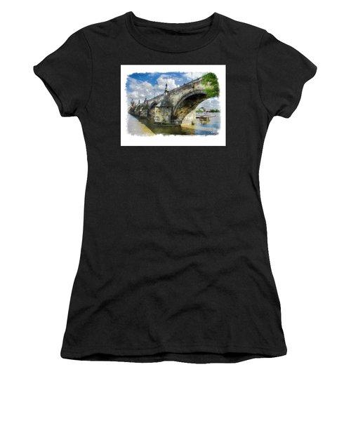 The Charles Bridge - Prague Women's T-Shirt