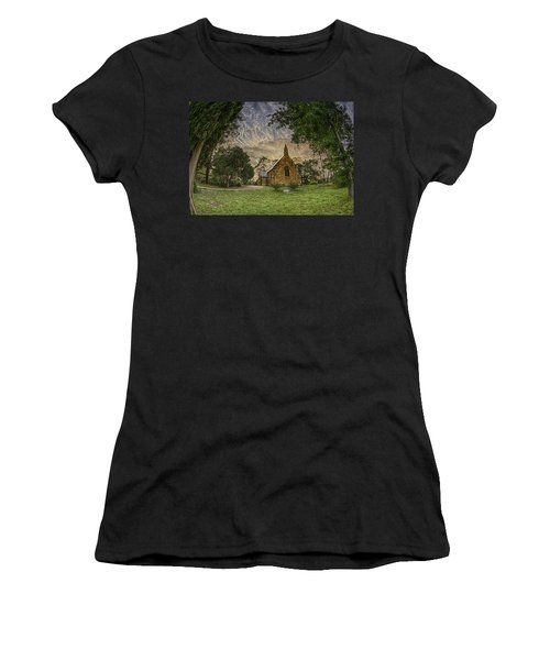 Women's T-Shirt featuring the photograph The Church by Chris Cousins