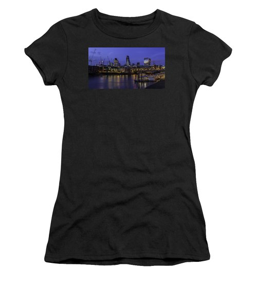 The City From The Southbank Women's T-Shirt (Athletic Fit)
